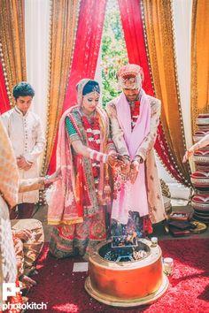 hindu wedding <3 Gunjan & Karan's Fun Filled Maharashtrian Punjabi Fusion Wedding {Toronto, CA} - Gallery