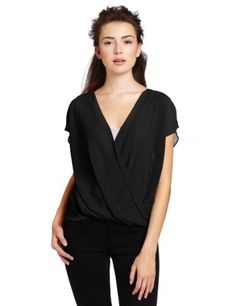 Sanctuary Clothing Women's Oragami Blouse Sanctuary. $57.74. Made in China. polyester. Machine Wash. Long in back. Front drape