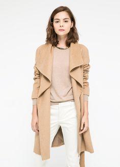 Wollen jas met revers // musthave!!