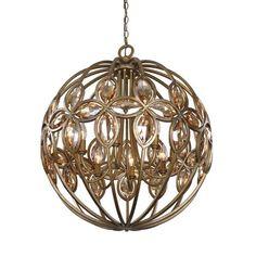 Kalco Lighting Coronado Florence Gold 44 Inch Wide Eight Light Chandelier On SALE