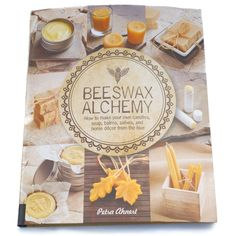 Beeswax Alchemy is a clearly written and beautifully produced guide to the many decorative and healthful uses for beeswax. This diverse book covers wax selection, candle making, balms, salves, soaps,