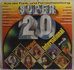 Various – Super 20 International Ma Baker, Old Fashioned Love, Standing In The Rain, Boney M, Old Music, Pop, Love Songs, Orchestra, Popular