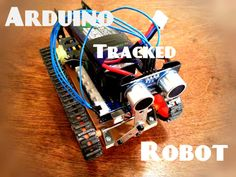 Picture of Tracked Arduino Robot