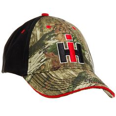 Case IH Cap International Harvester Logo 3D Camo Pattern Hat NEW f43dea98a40d