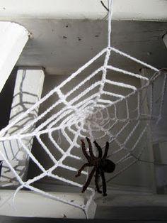 #haken, gratis patroon, Nederlands, spinnenweb, haakpatroon