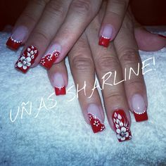 Uñas! Nails, Beauty, Jewelry, Patterns, Finger Nails, Jewlery, Ongles, Jewerly, Schmuck