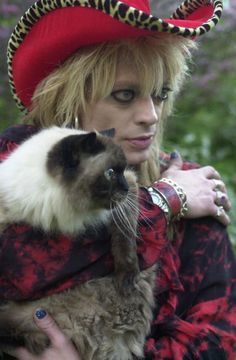 terri with an i Roky Erickson, Gypsy Punk, Hanoi Rocks, 80s Hair Bands, Glam Metal, Cat People, Music Bands, Cool Bands, Rock N Roll