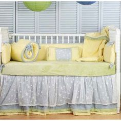 Twinkle Twinkle Little Star crib bedding