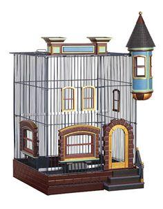 Prevue Hendryx FeatherStone Heights Brownstone Bird Cage