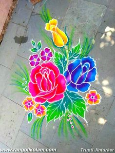 Diwali Rangoli designs for Status - WaStatus Rangoli Designs Latest, Rangoli Designs Flower, Rangoli Border Designs, Latest Rangoli, Small Rangoli Design, Colorful Rangoli Designs, Rangoli Designs Images, Rangoli Ideas, Rangoli Designs Diwali