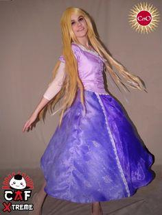 "CAF Xtreme - Cosplay - 1ra Parte: Kitsune, cosplay de Rapunzel (""Tangled""). - via @CordobaNoOtakus"