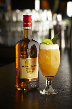 Mount Gay Rum Punch by The Cocktail Lovers