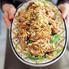 ねぎソースをたっぷりかけていただく、栗原はるみレシピの中でも人気No.1メニュー。 Japanese Food, Poultry, Cooking Recipes, Meat, Chicken, Dinner, Foods, Drink, Dining