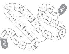 Automatiseer via spelend leren met dit ganzenbordspel het optellen en aftrekken tot en met 20 zonder brug.