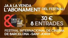 Barcelona Film Fest. Cines Verdi Barcelona. 20-27 abril 2018