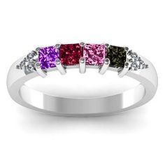family ring-everyone's birthstones
