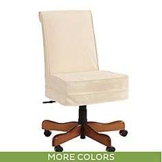 Covington Desk Chair Slipcover