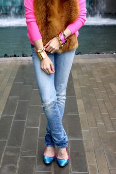 Sheridan French Blog :: How I Wore It :: Jeans & Heels