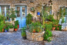 Areopoli Village Private Pool, Mountain View, View Image, Homeland, Greece, Beautiful Places, Folk, Shops, Patio