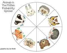 Swamp Frog First Graders: Animals in The Mitten Probability Activities