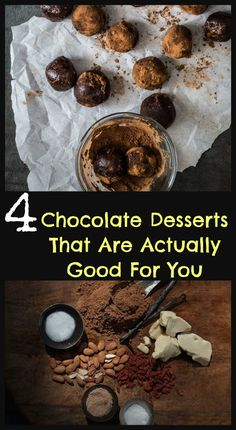 4 Chocolate Desserts That Are Actually Good For You