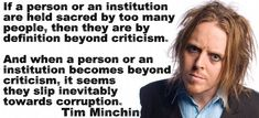 Tim Minchin is not only funny, but also very wise.