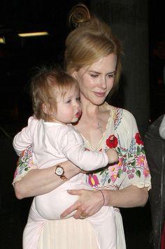 Nicole Kidman in Hungarian embroidered dress.