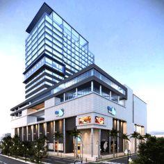 Edificio en Maqueta con el Hotel JR Marriott Disponible para 2014