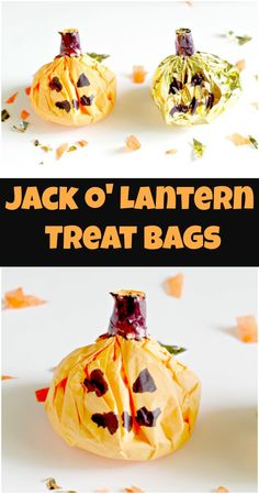 Jack O Lantern Treat