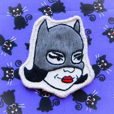 Ghost World Enid Coleslaw Catwoman Embroidered by radboutiqueuk