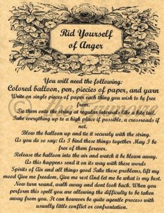 Rid-Yourself-of-Anger-Book-of-Shadows-Page-BOS-Pages-Witchcraft-Wicca-Pagan