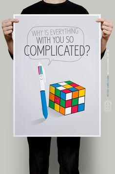 Simplicidade é tudo! :) #poster Complicado Na Casa da Joana.