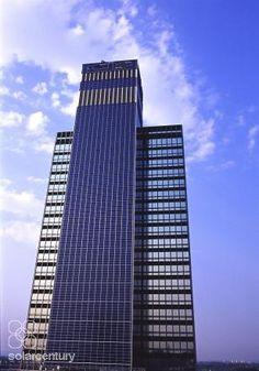 Solar Facade Manchester -The CIS tower