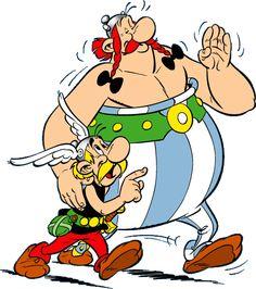 """""""Asterix e Obelix"""" di Asterix il gallico Comics Und Cartoons, Fun Comics, Cartoon Cartoon, Comic Book Characters, Comic Books, Disney Characters, Desenhos Hanna Barbera, Asterix E Obelix, Beste Comics"""