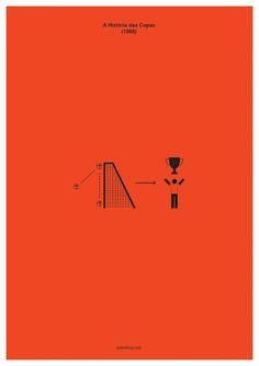 Love this look at World Cup history through minimalist art.