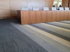 Understated elegance in UR501, Interface carpet tile