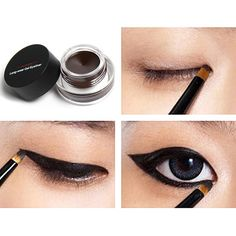 Eye Liner Waterproof Gel Eyeliner Cream Smudge-proof Cosmetics Set Eye Liner Kit in Eye Makeup for Party Swimming Maquiagem #>=#>=#>=#>=#> Click on the pin to check out discount price, color, size, shipping, etc. Save and like it!