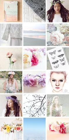 Rose Tinted Illustration // Instagram posts November 2014
