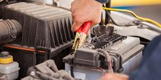 Call your local trusted Auto Shop- Clausen Automotive for car battery replacement & installation services. Schedule your appointment today! Optima Battery, Golf Cart Batteries, Car Polish, High Performance Cars, Car Cleaning Hacks, Clean Your Car, Lead Acid Battery, Diy Car, Car Shop