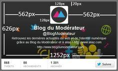Tutoriel : les dimensions pour personnaliser le nouveau profil Twitter