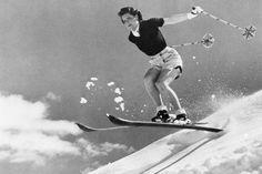 Hannah Locke, member of the 1938 American Women's Ski Team. Ski Fashion, School Fashion, Sun Valley Ski, Ski Bunnies, Bunny, Ski Mountain, Alpine Style, Vintage Ski, Vintage Winter