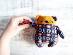 Artist teddy bears stuffed toys safe soft toys par HandyHappyTeddy