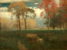 Sunny Autumn by George Inness