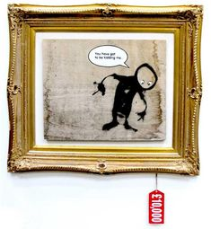 Some inside works by Banksy - STREET ART UTOPIA » We declare the world as our canvas.