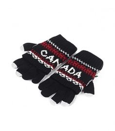 Black & White Canada 2 In 1 Gloves Winter Collection 2016
