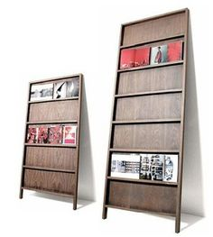 These are also really stylish Brochure Display Stands! Could be nice in front entry, instead of those racks???