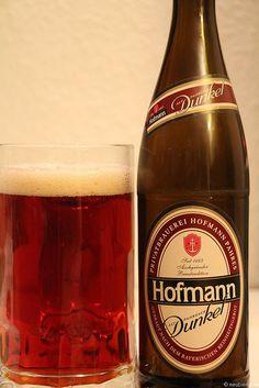 Hofmann Bier Dunkel aus Pahres www.hofmann-bier.de