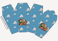 Toy Story 3: Cjas para Imprimir Gratis.
