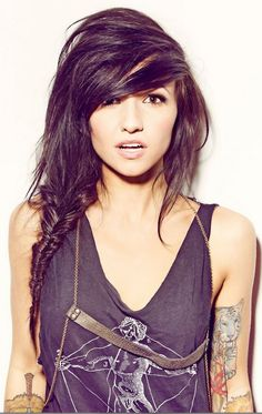 Valerie Poxleitner. Ok, here's one style of bangs I'm looking at.