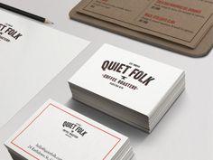 Quiet Folk by Andrew Clark, via Behance